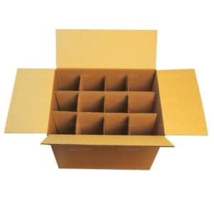 Caja de carton para 24 botellas
