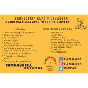 TALLER DE ELABORACIÓN DE CERVEZA