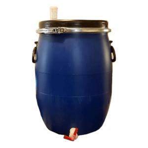 Fermentador azul 30 lt. (Equipado)