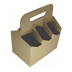 Caja de cartón para 6 botellas